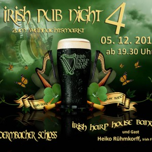 Irish Pub Night Dermbach 2015 Weihnachtsmarkt